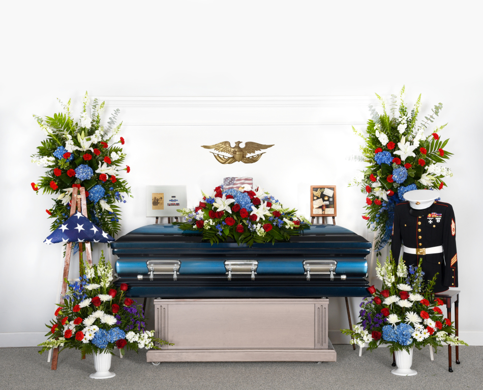 Military Caskets O Leary Funeral Cremation Services Celebration Of Life Center Norwalk Ia Funeral Home And Cremation
