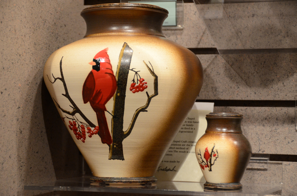 Victory Cardinal with Keepsake