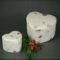 Wild Flower Heart (Bio-degradable) Urn