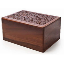 Sheesham Urn (Temporarily Out Of Stock)