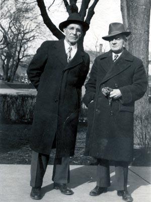 Nicholas T. Keilman and William F. Bailey in 1915.