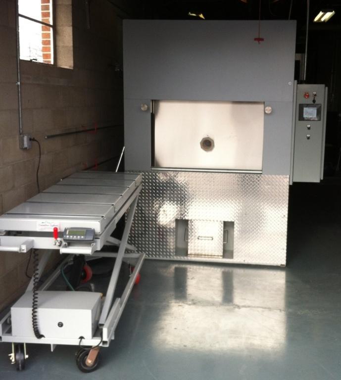 2013 Cremator installed