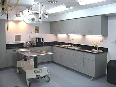 New state of the art prep room