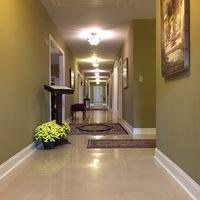 Visitation Hallway