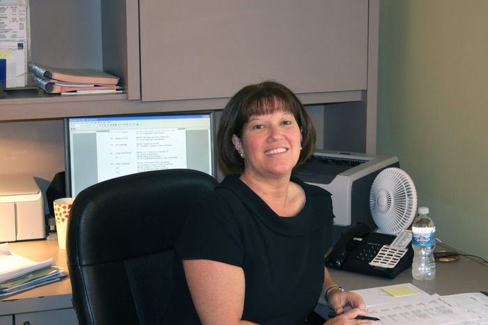 Elaine Crump, our secretary