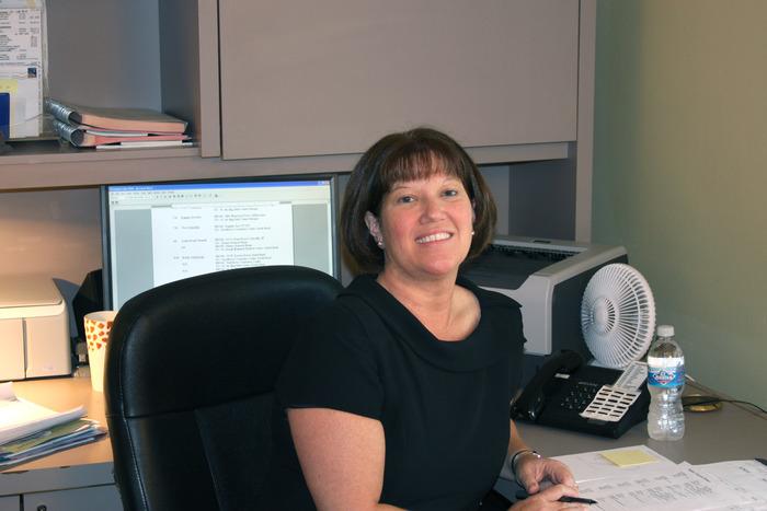 Elaine Crump, our secretary