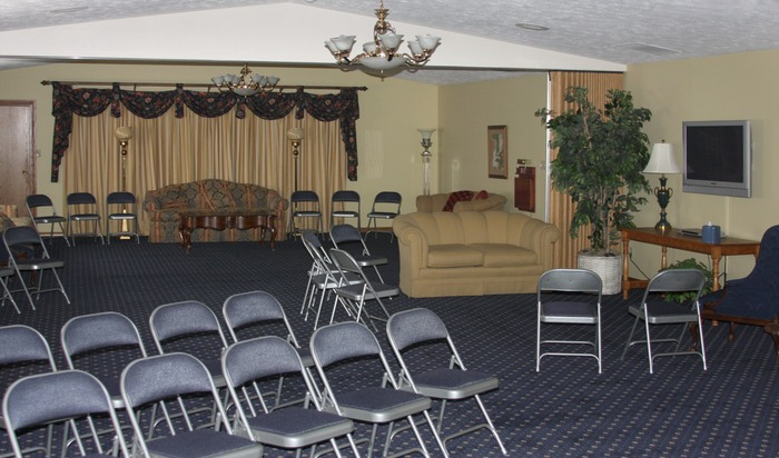 An interior view of our chapel