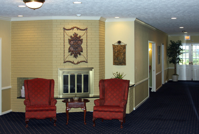 Interior Shot of Guisinger chapel