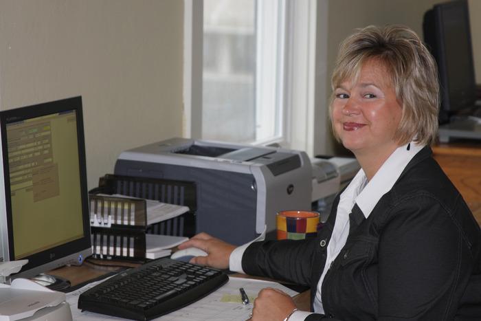 Christy, our secretary