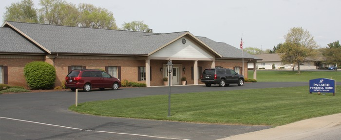 Front view of Funeral Home