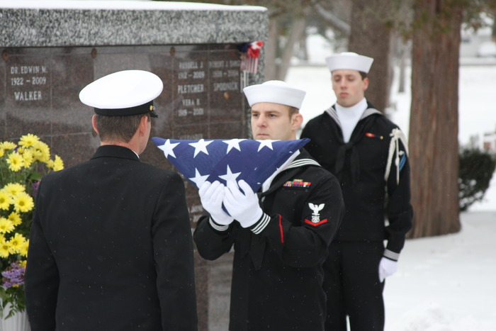 Honor Guard from Great Lakes
