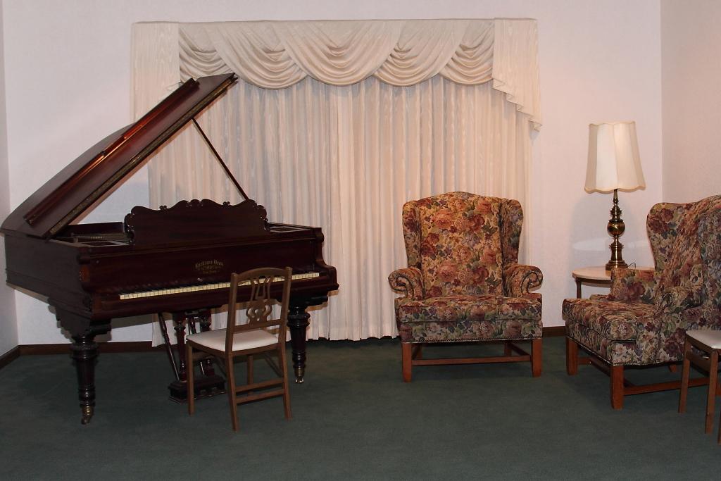 Antique Krakauer Sons Grand Piano