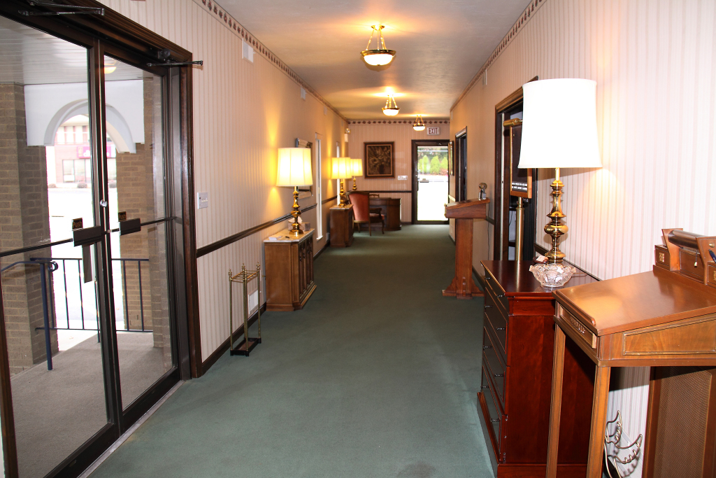 Perman Funeral Home Main Hallway