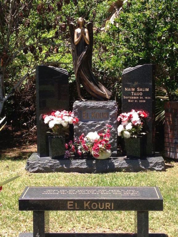 Headstone, Bench, Statuary Option