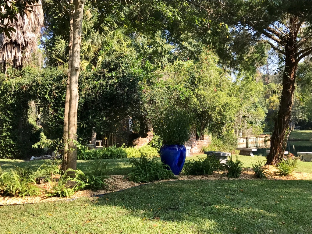 Scattering Garden Area