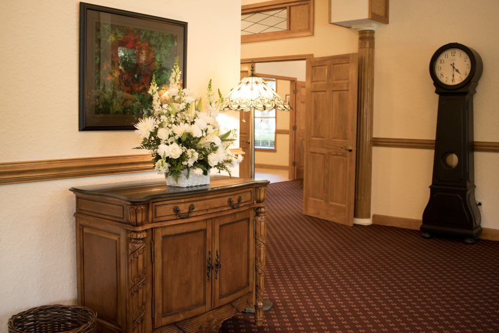 Funeral Home Entrance Foyer