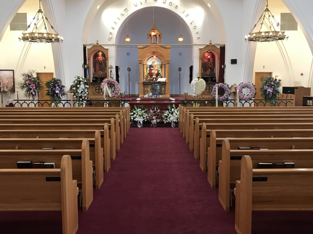 St. Gregory the Enlightener Armenian Church funeral service conducted by Pleasant Manor Funeral Home