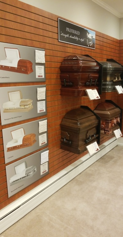 Selection Room Casket Offerings