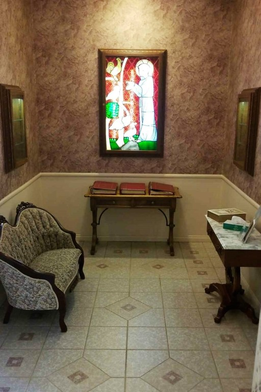 Parson Mortuary's  Memorial Room