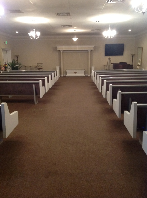 Spacious Chapel with large screen TV