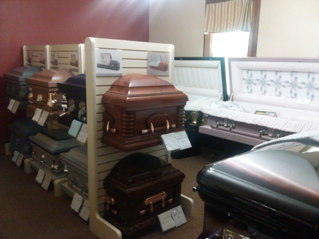 New Casket Selection Room