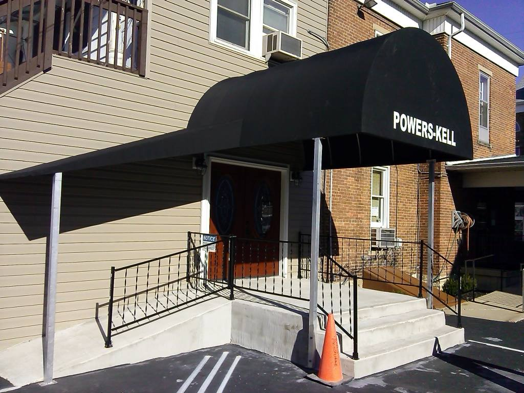 New Main Funeral Home Entrance