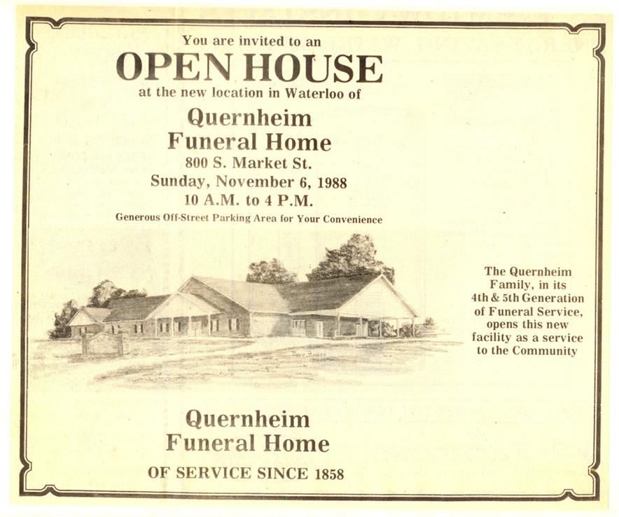 Quernheim Funeral Home Il