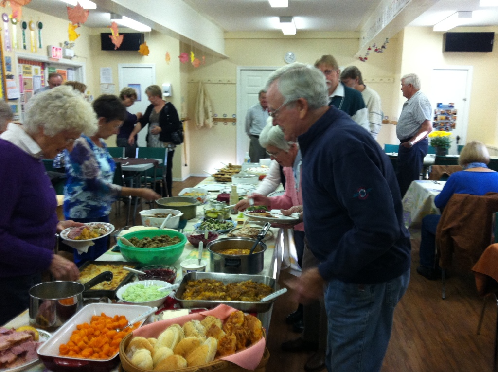 Thanksgiving at the church