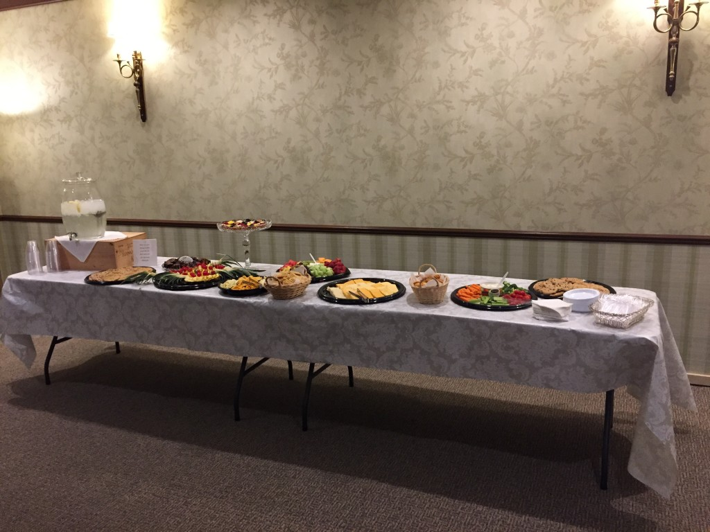 Funeral Reception