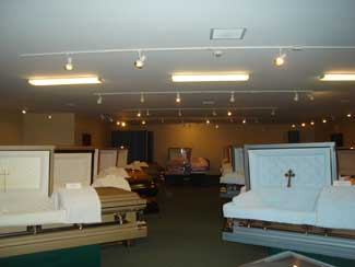 Casket Showroom