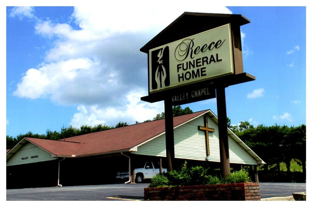 Outside of Reece Funeral Home