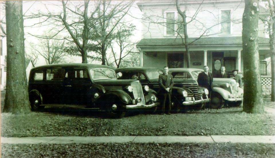 Funeral Fleet Circa 1930's