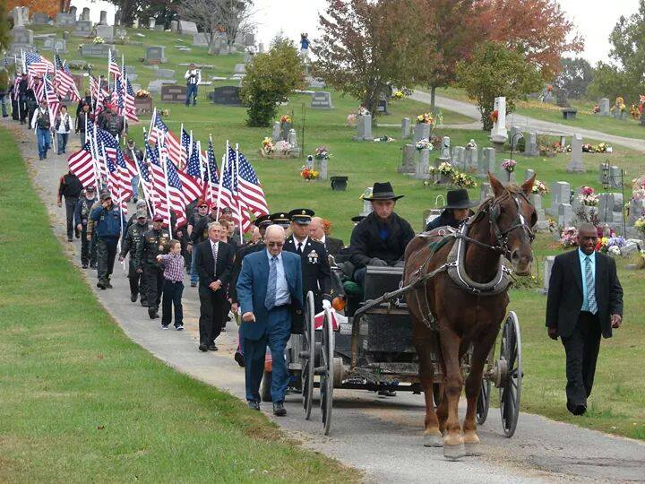 Military Funeral Procession