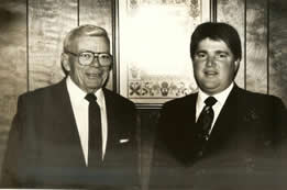 Raymond Raisian and son, Joseph Raisian