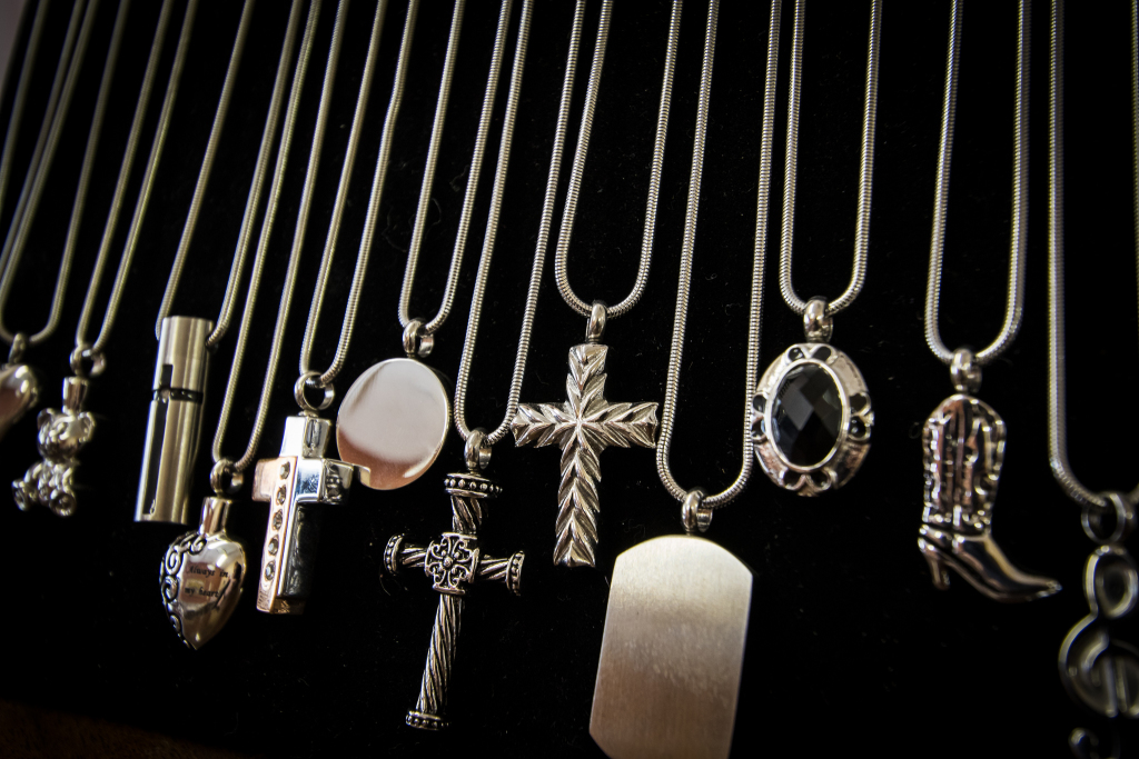 Cremation Jewelery Selection