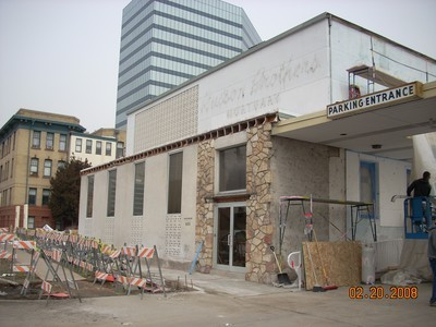 Remodel begins in 2008