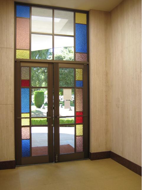 Door to the mausoleum