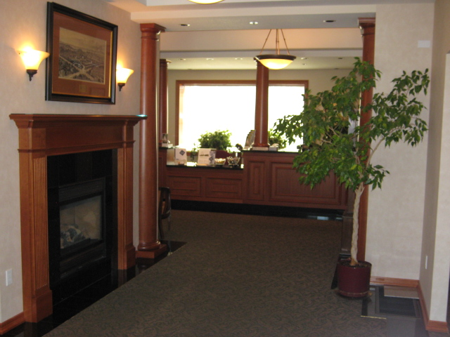 The office entrance