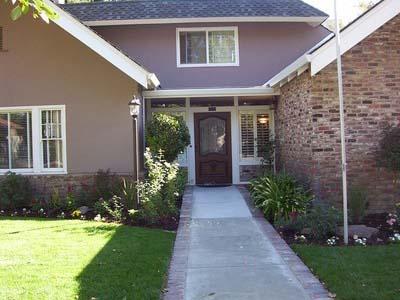 Davis Location - Funeral Home Entrance