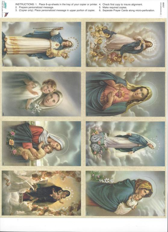 Mary Assortment 1