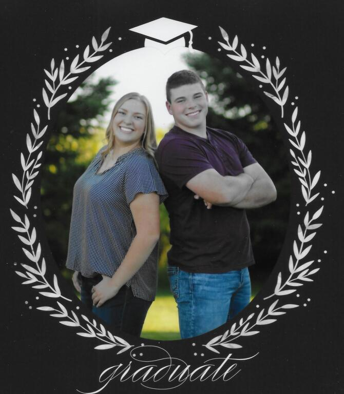Wyatt and Mariah Weiss - children of Pat and Diana Weiss