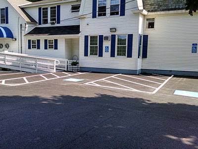 Handicapped Ramp and Parking
