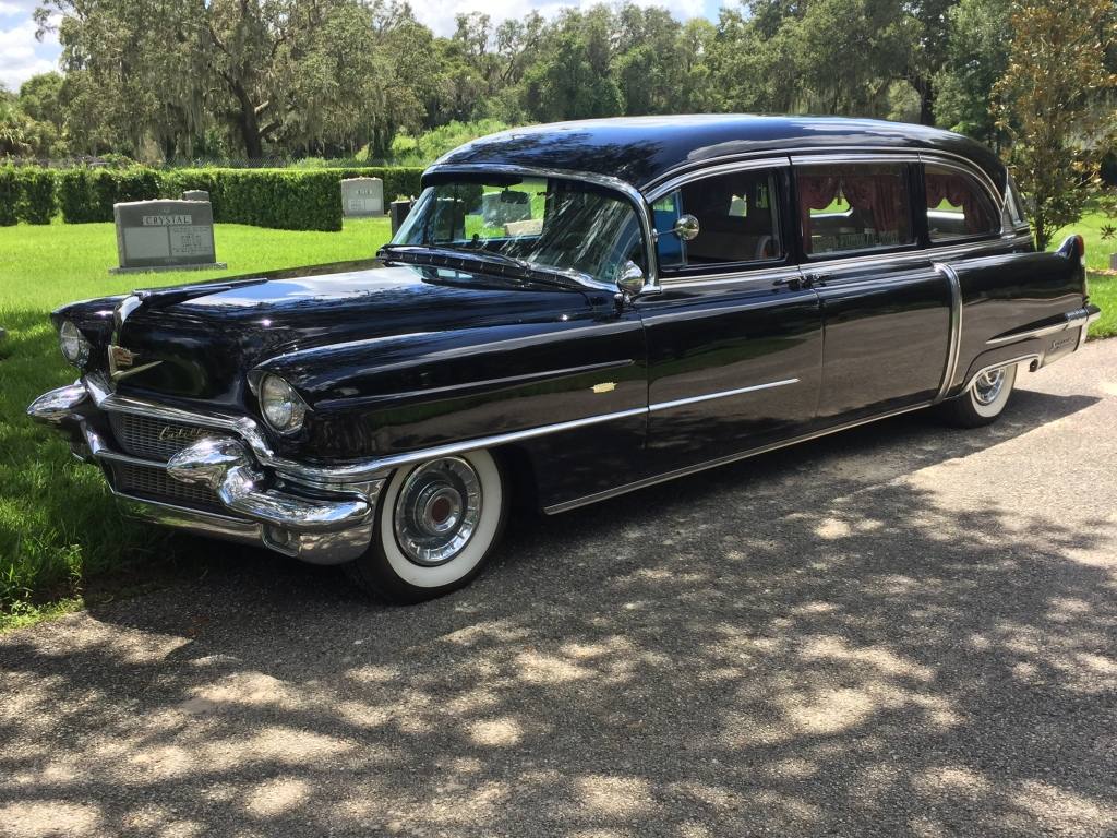 Our Fleet - Classic 1956 Cadillac