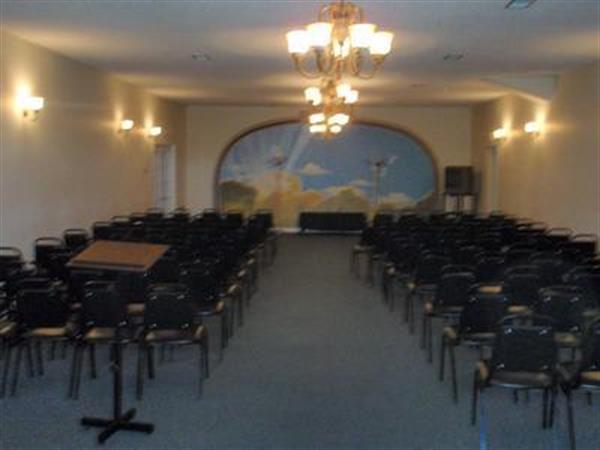 Our Spacious All Faiths chapel