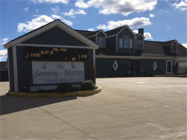 Thank you for visiting Serenity-Martin Funeral Home in Oxford, MS