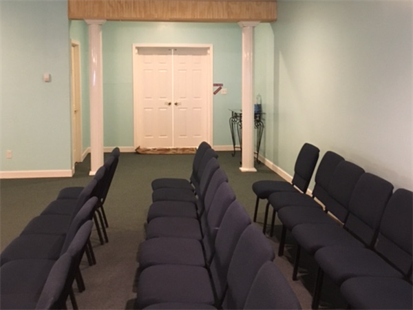 Our chapel seats 250 for your convenience.