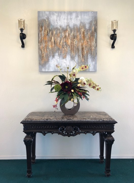 Funeral Home Foyer