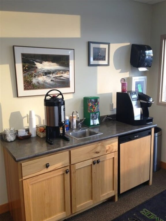 Coffee Bar in front office area