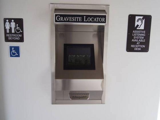 Gravesite Locator Terminal