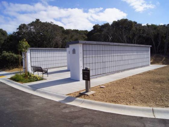 Cremation Columbarium at CA Central Coast Veterans Cemetery